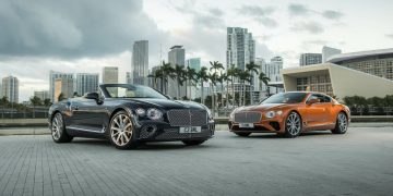 Bentley revela los nuevos Continental GT V8 Coupé y Continental GT V8 Convertible 2020