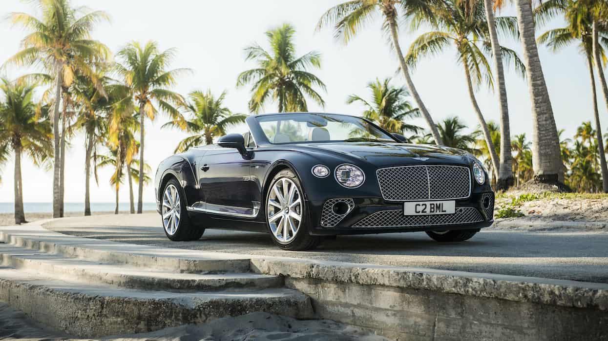 La colección de coches de las Kardashian: Bentley Continental GT