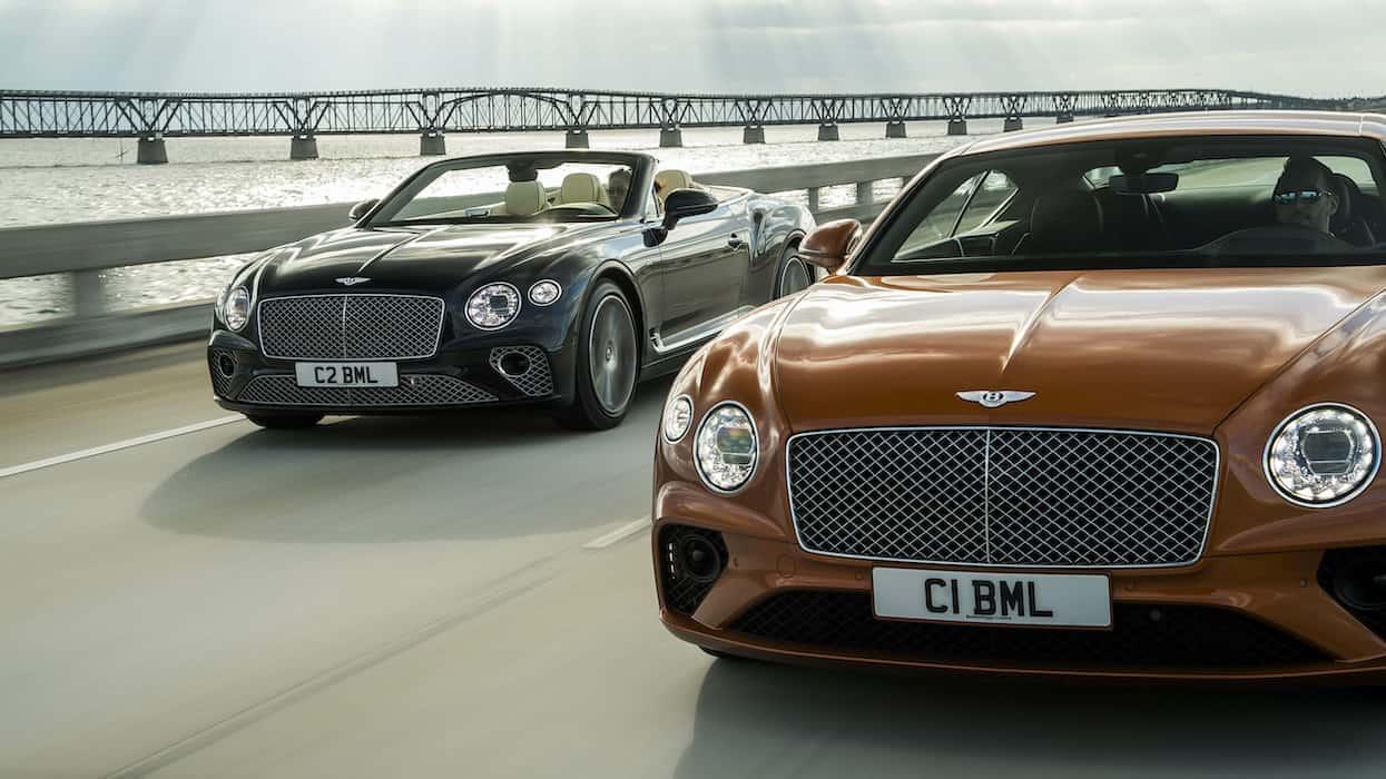 Bentley revela los nuevos Continental GT V8 Coupé y Continental GT V8 Convertible 2020
