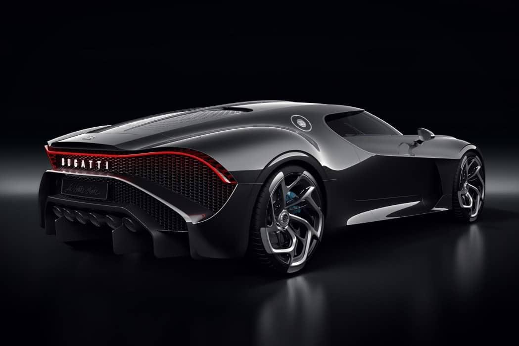 Bugatti La Voiture Noire: El automóvil más costoso jamás construido se vende por €11 millones en el Salón de Ginebra