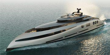 E P O C H: Un progresivo concepto de mega yate de 80 metros presentado por Ricky Smith Designs