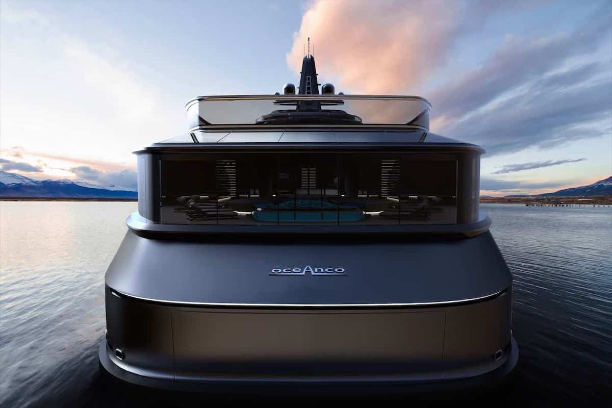 """Oceanco presenta un impresionante concepto de mega yate para expediciones extremas llamado """"Esquel"""""""