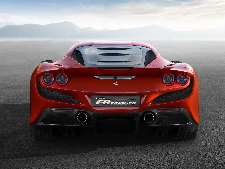 F8 Tributo Coupé 2020: El Ferrari más potente hasta la fecha