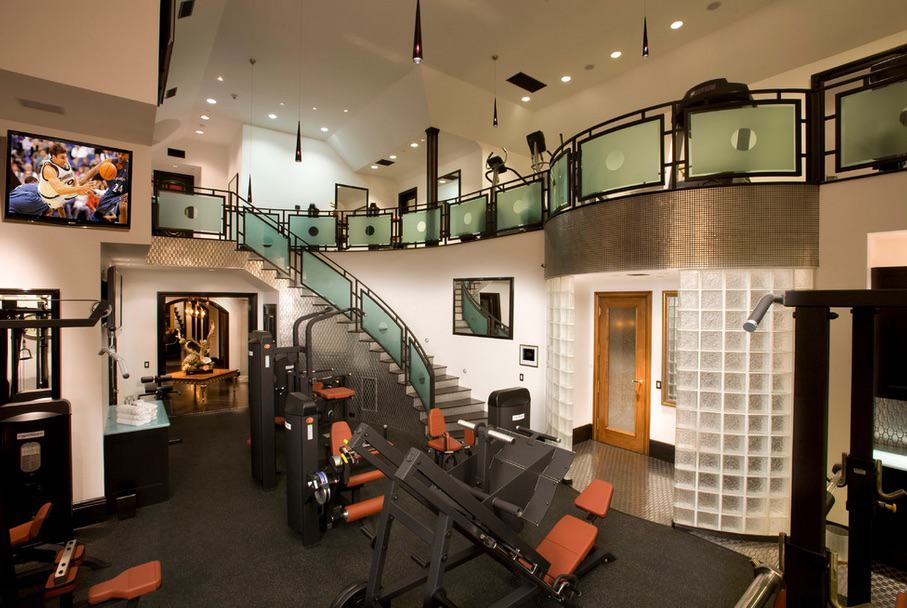 Echa un vistazo a estos 20 gimnasios privados de algunas de las mega mansiones más lujosas de los Estados Unidos