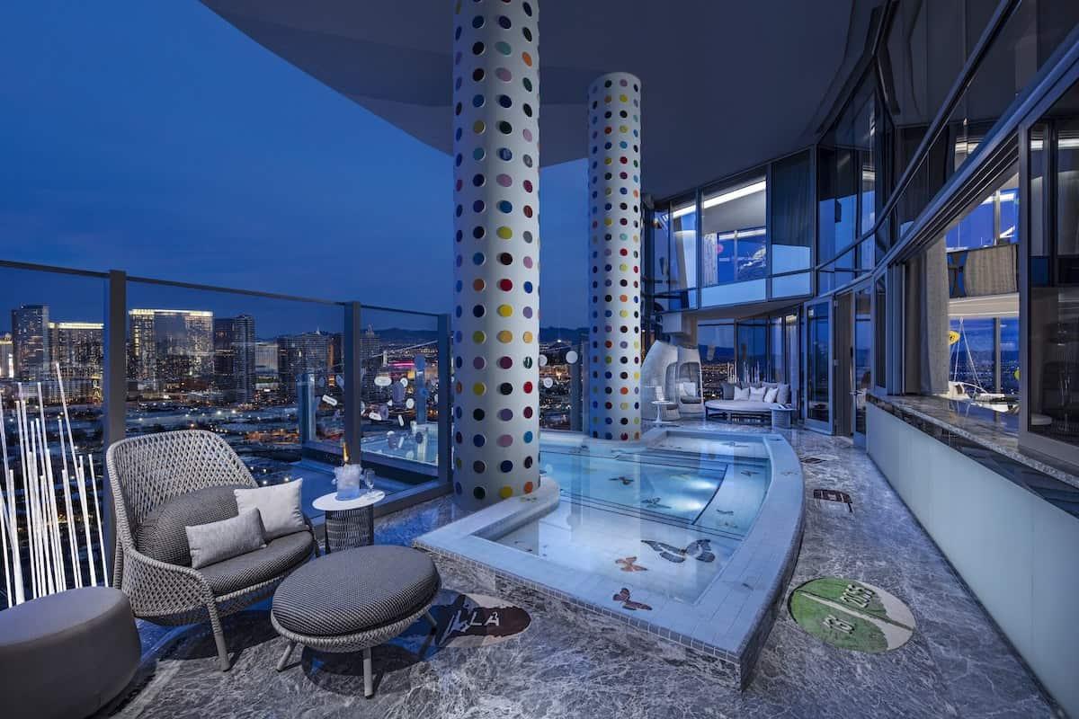 La suite de hotel más cara del mundo acaba de abrir en el Palms Casino de Las Vega y cuesta $100.000/LA NOCHE