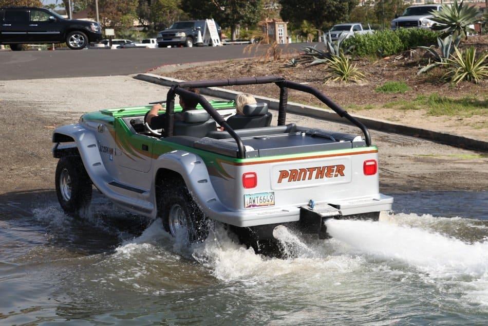 WaterCar Panther, el vehículo anfibio más rápido del mundo