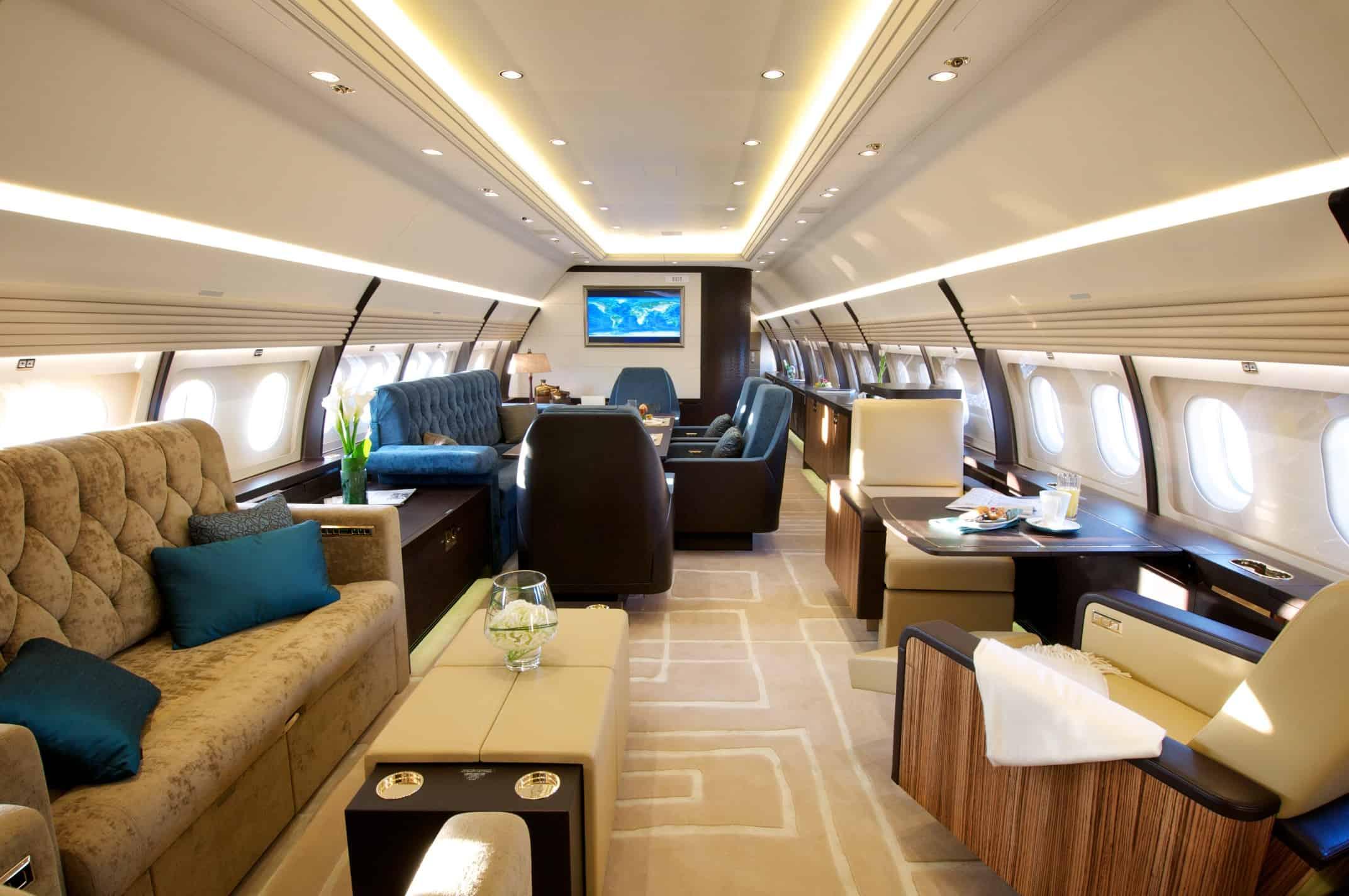 Airbus ACJ319: Interior