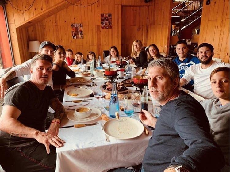 Messi y Familia
