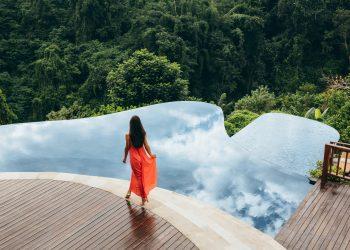 Ubud Hanging Gardens en Bali, Indonesia