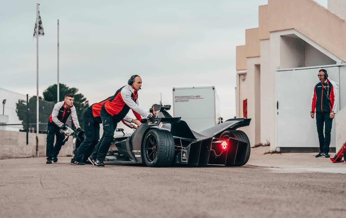 Porsche continúa su preparación de cara a la Fórmula E en España