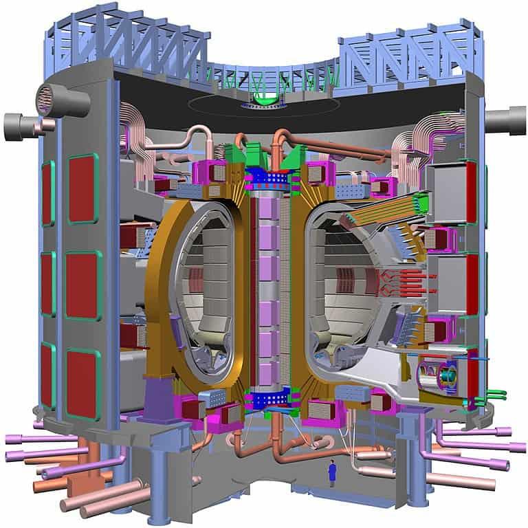 Reactor Experimental Termonuclear Internacional (ITER) TOKAMAK.