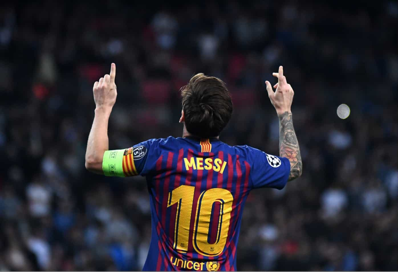 Lionel Messi, quedo este año en el #3 de los futbolistas más valiosos del mundo 2019