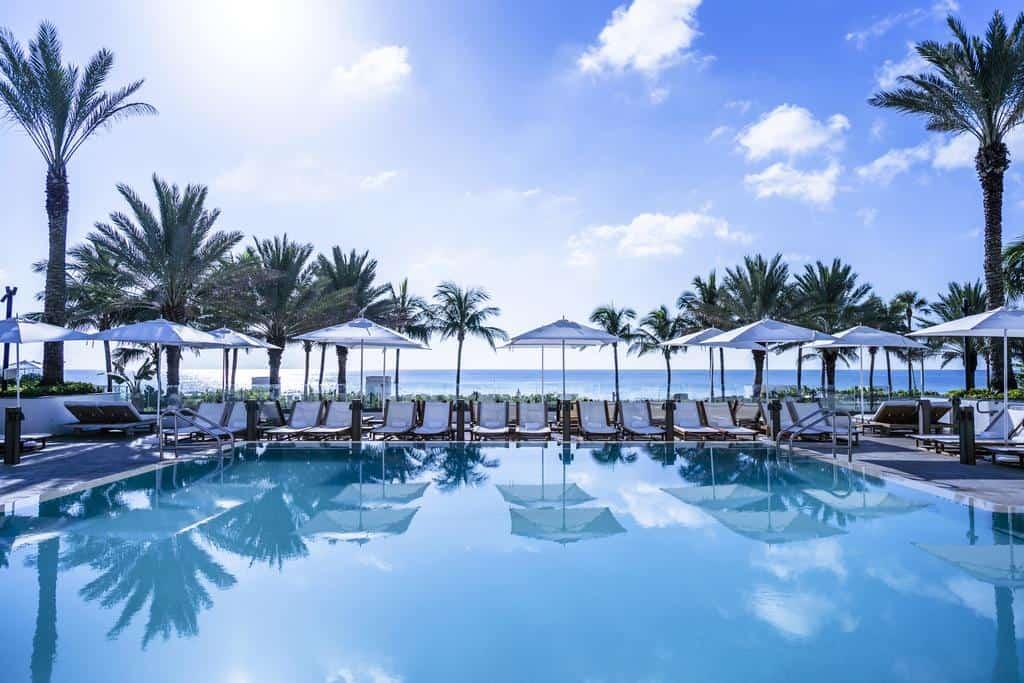 El Nobu Hotel Miami Beach habla por sí mismo