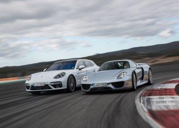 10 años del Porsche Panamera: limusina deportiva de lujo pionera en hibridación