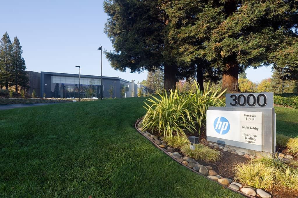 Sede principal de Hewlett-Packard en Palo Alto, California