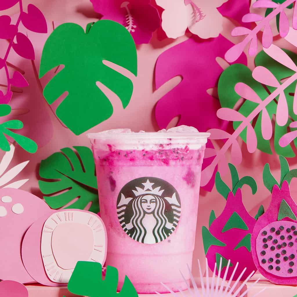 Dragon Drink, Starbucks