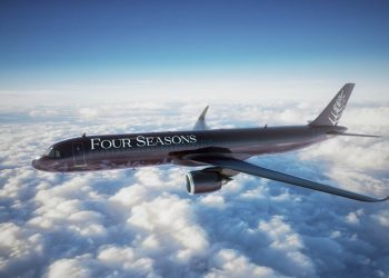 Airbus A321 LR: Nuevo jet privado de Four Seasons