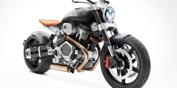 Bestial motocicleta V-twin Streetfigher de Confederate Motorcycles