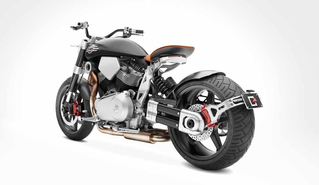 Bestiales motocicletas X132 Hellcat Speedster de Confederate Motorcycles