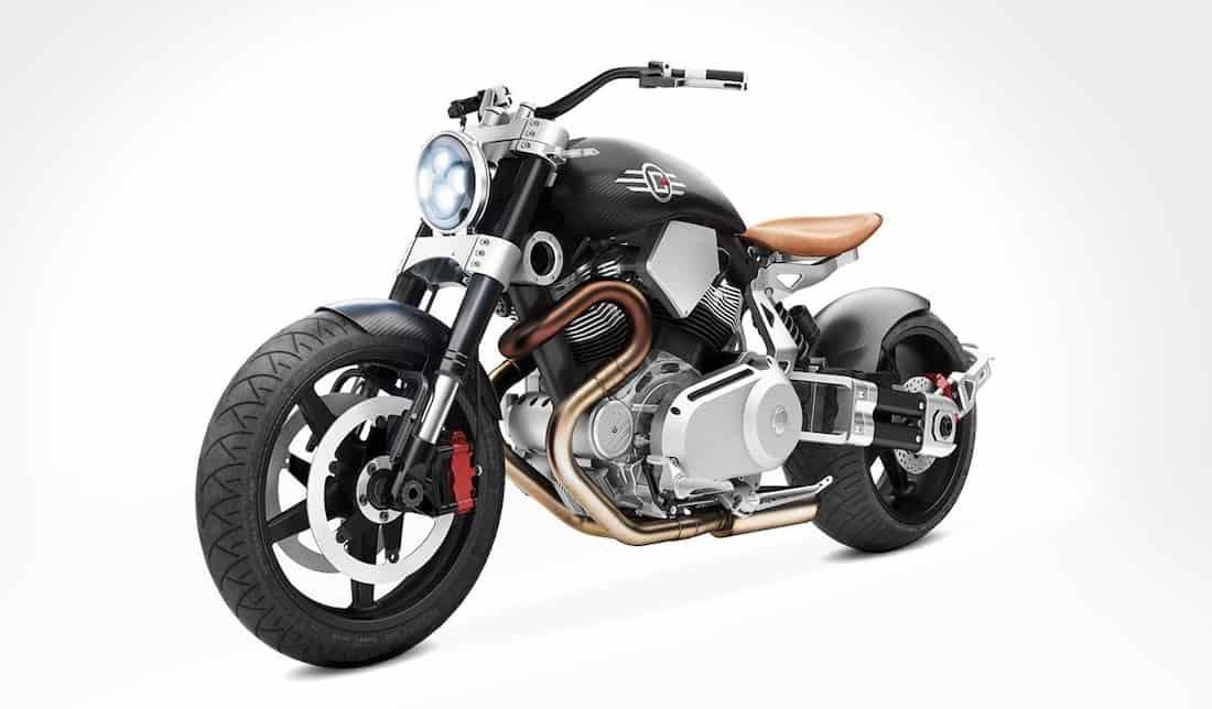 """Una de las motocicletas V-twin Streetfigher más bestiales de Confederate Motorcycles: """"X132 Hellcat Speedster"""""""