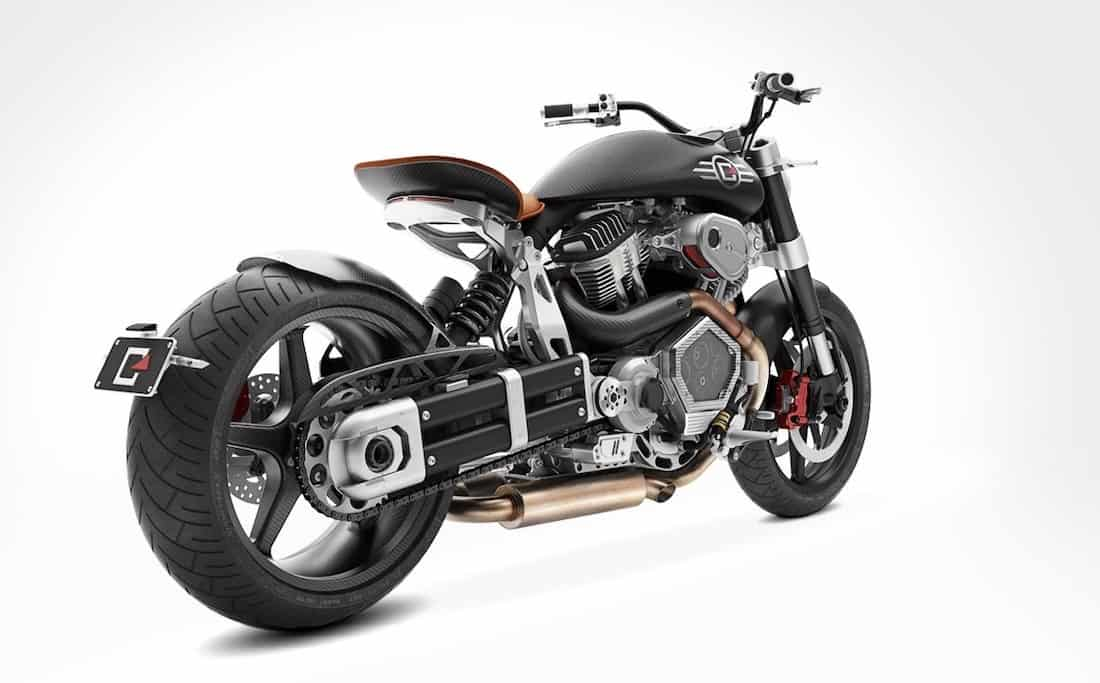 Bestial V-twin Streetfigher de Confederate Motorcycles