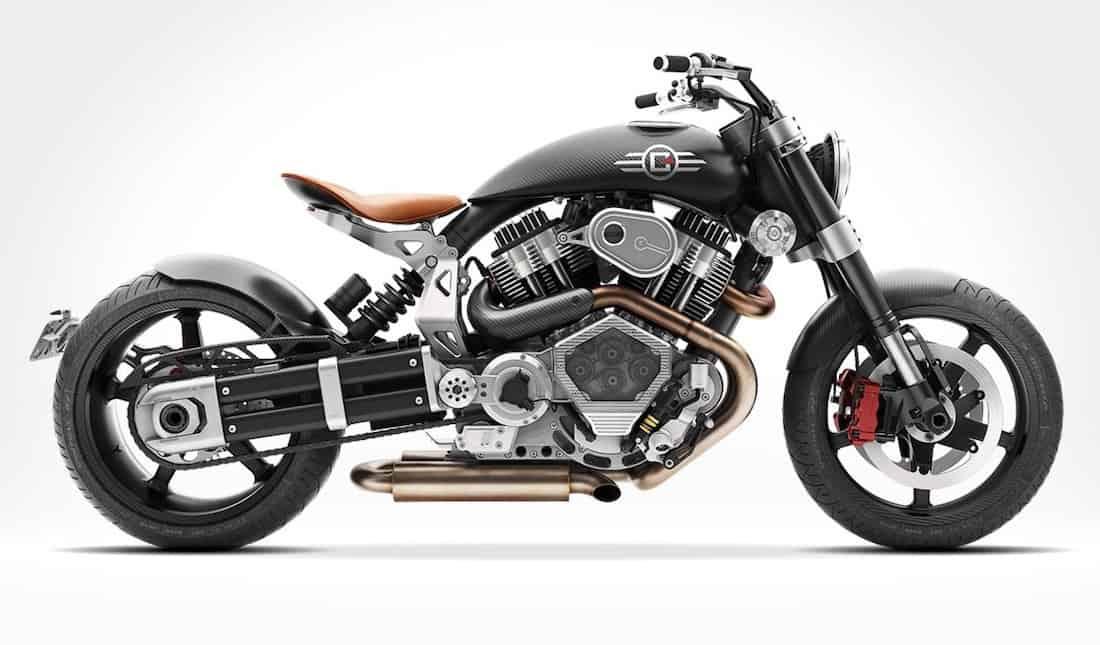 Bestial X132 Hellcat Speedster de Confederate Motorcycles