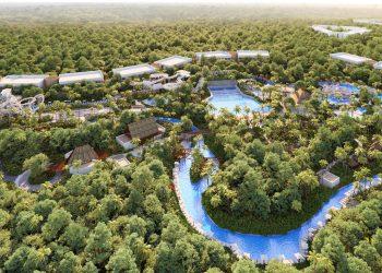 Grupo Vidanta presenta su primer parque acuático de lujo.