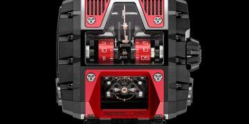 GOTHAM T2K T-1000: Reloj futurista de edición especial por Rebellion Timepieces