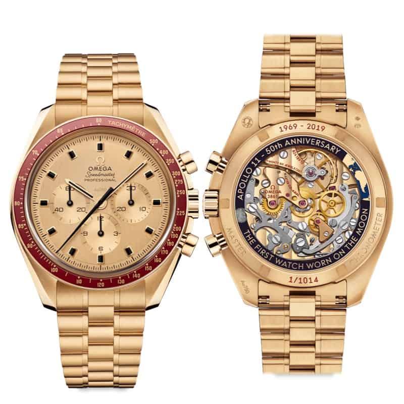 El reloj tributo Omega Speedmaster Apollo 11 tiene un precio de $34.600 (€30.998).