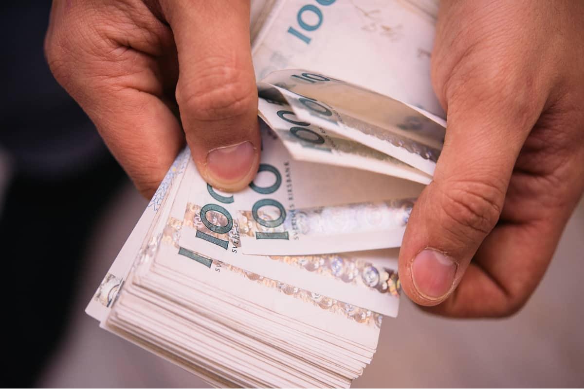 Dinero en efectivo de Suecia