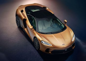 Vehículo de lujo McLaren GT 2020