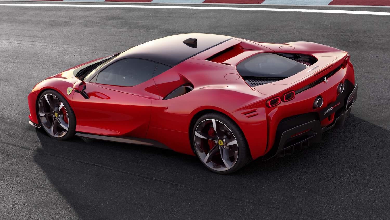 Ferrari SF90 Stradale, el primer híbrido enchufable Ferrari SF90 Stradale