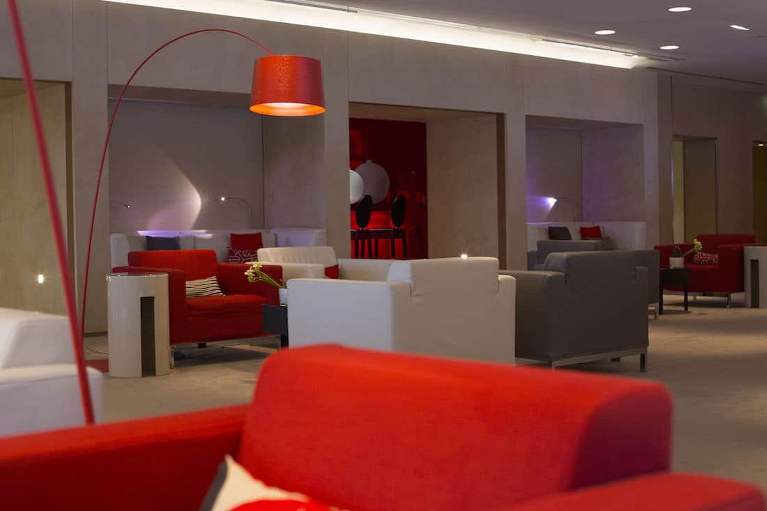 Lounge VIP La Première de Air France en París, Francia