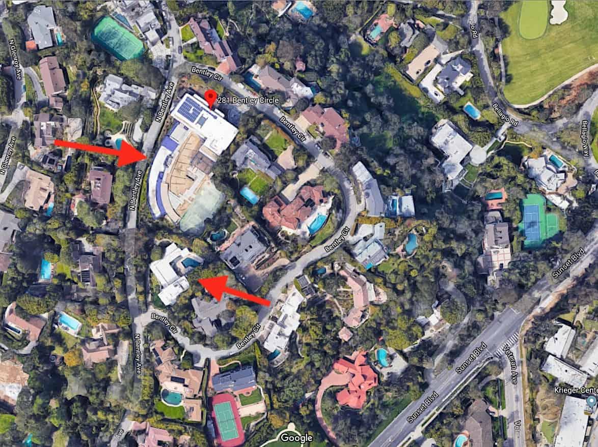 Jeque árabe compra dos casas de lujo en Los Ángeles; Un mansión de 20.000 pies cuadrados para él y la casa vecina para su personal
