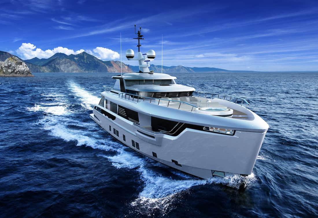 """Dynamiq presenta el G330: La primera embarcación tipo """"Explorer"""" de su nueva serie de yates GLOBAL"""