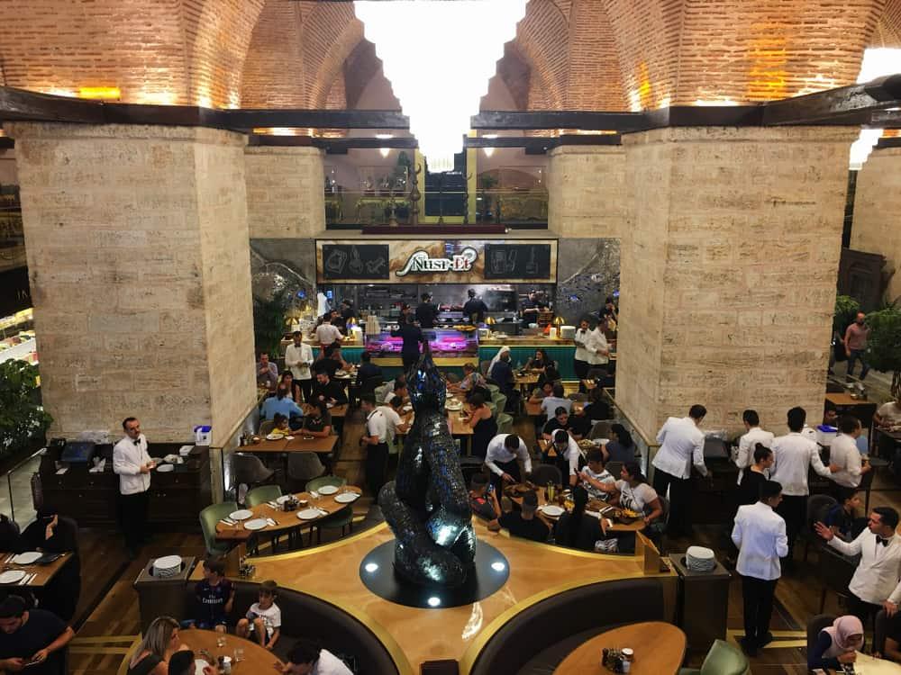 Restaurante Nusr-Et, Gran Bazar, Estambul, Turquía