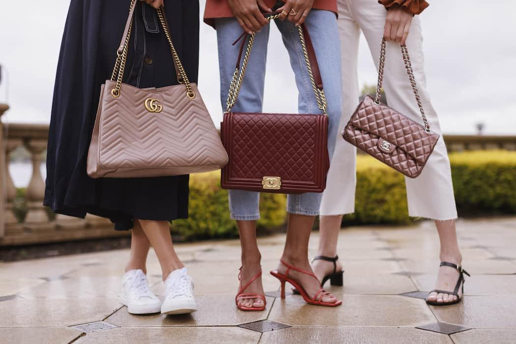 Bolsos GUCCI y Givenchy