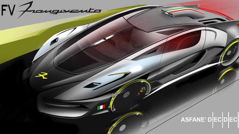 Asfanè DieciDieci de FV Frangivento: Nuevo superdeportivo italiano de 996 caballos de fuerza