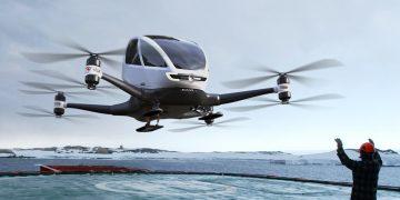 Vehículo aéreo no tripulado: EHANG 184