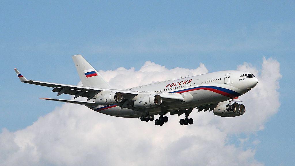Avión IL96 de Vladimir Putin