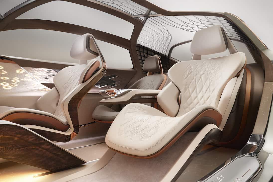 Bentley presenta el EXP 100 GT: El futuro de sus coches eléctricos de lujo