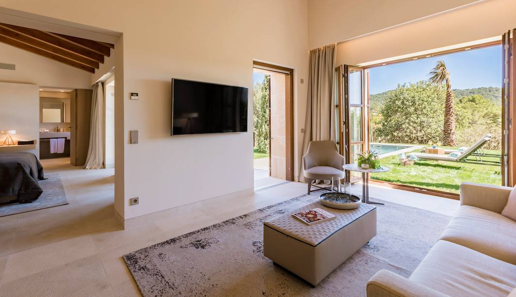 Castell son Claret inaugura tres magníficas pool suites