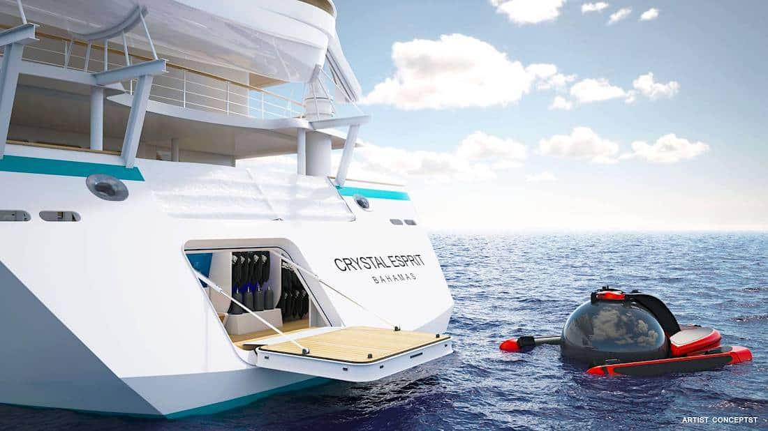 Crucero Esprit de Crystal Cruises