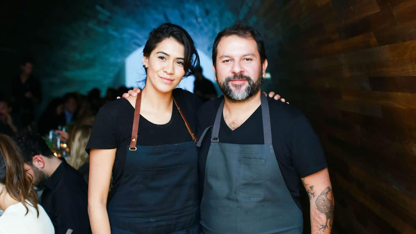 Enrique Olvera y Daniela Soto-Innes