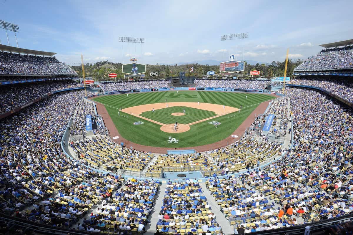 Estadio de los Dodgers en Los Ángeles