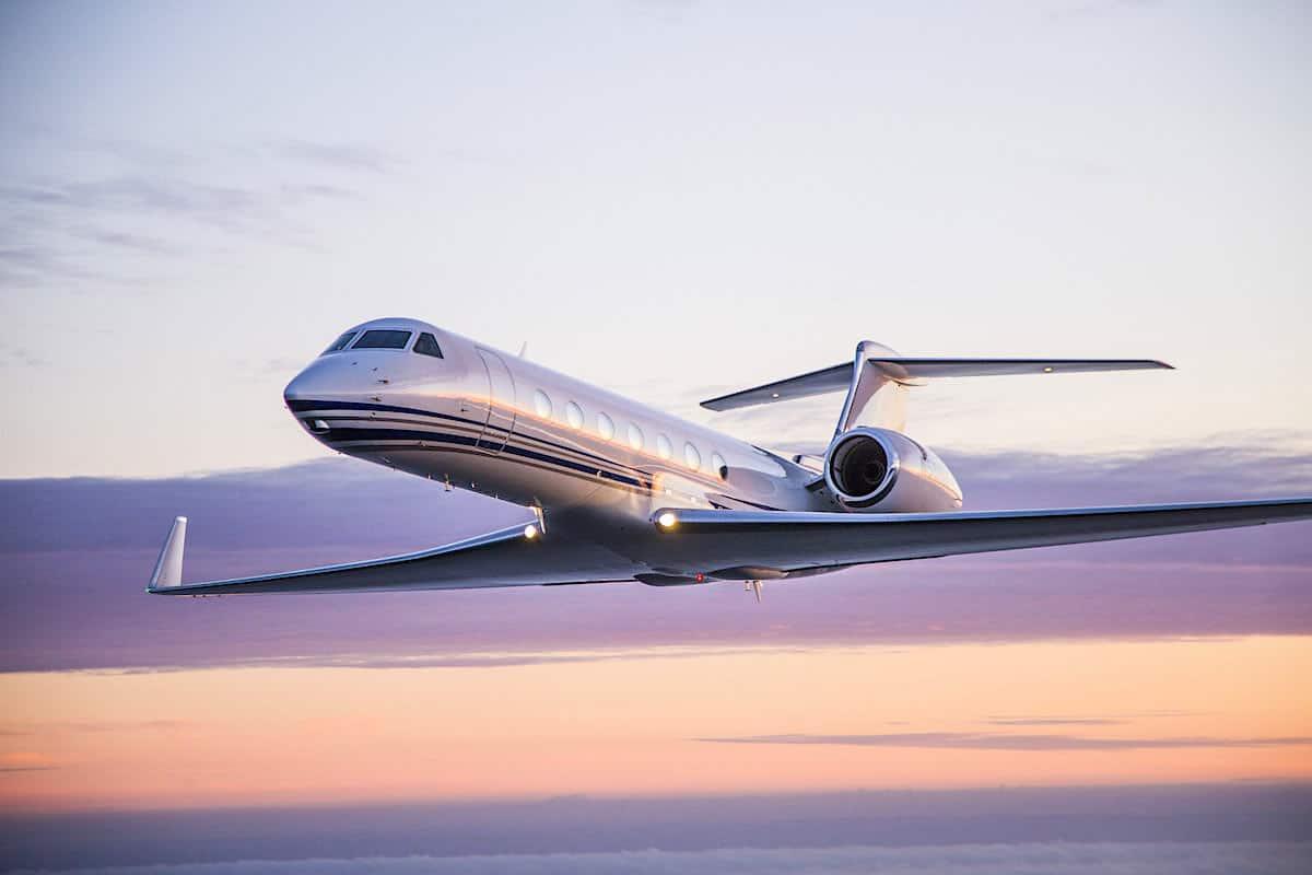 Avión privado Gulfstream G550