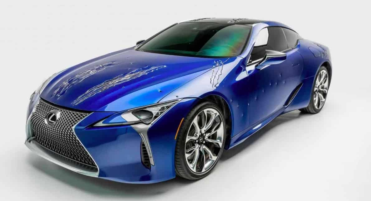 Lexus LC 500 de Black Panther (2018)