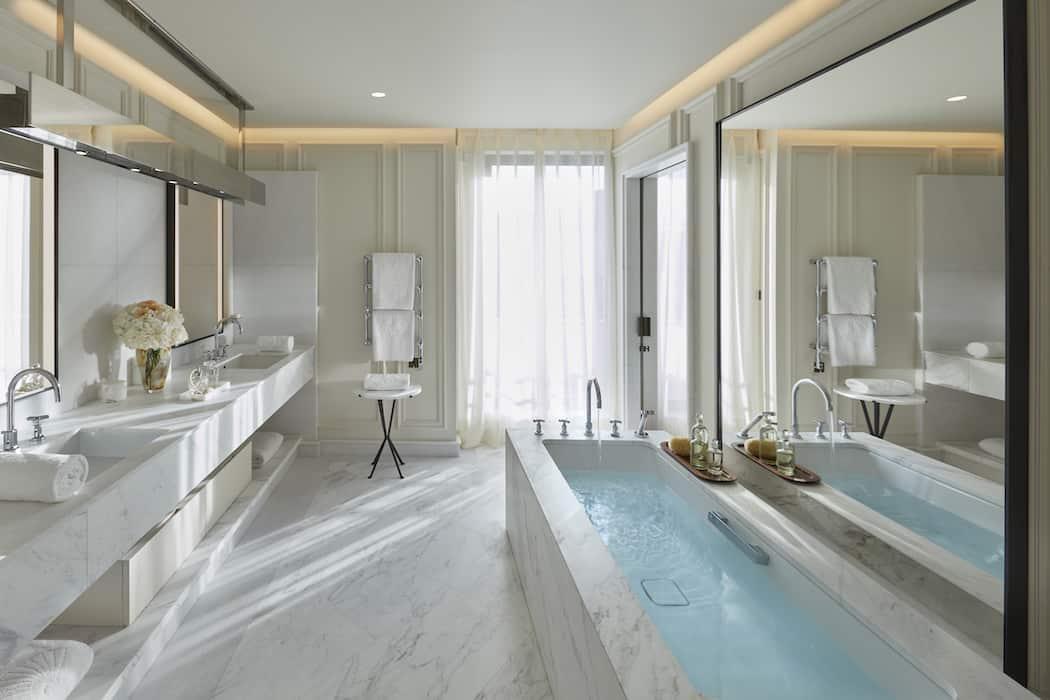 Baño del apartamento suite