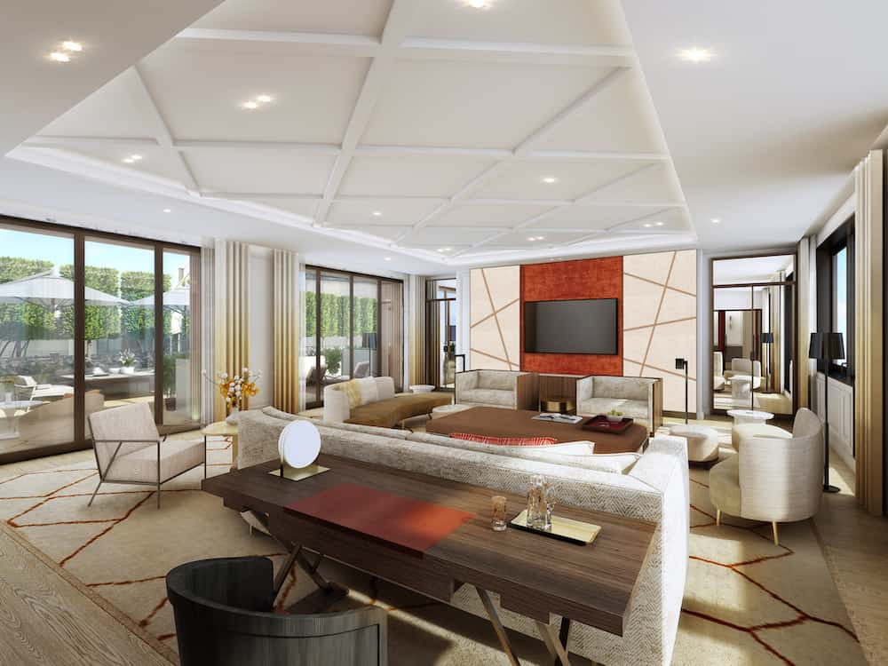 Espectacular suite apartamento parisino en el Mandarin Oriental, París.