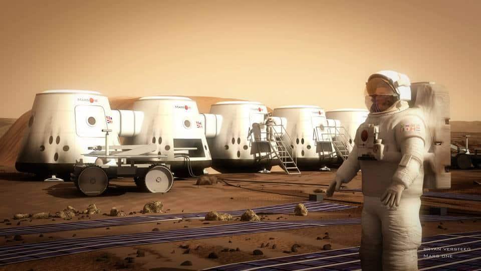 Con Mars One Project podrás viajar al espacio y vivir en el planeta Marte.